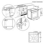 Духовой шкаф Electrolux OEF 3H70 TK фото №4