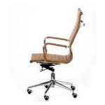 Кресло офисное Special4You Solano Artleather Light Brown (E5777) фото №3