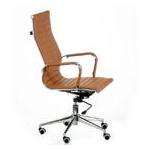 Кресло офисное Special4You Solano Artleather Light Brown (E5777) фото №4