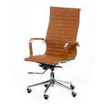 Кресло офисное Special4You Solano Artleather Light Brown (E5777) фото №1