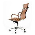 Кресло офисное Special4You Solano Artleather Light Brown (E5777) фото №5