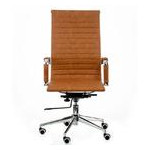 Кресло офисное Special4You Solano Artleather Light Brown (E5777) фото №2