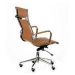 Кресло офисное Special4You Solano Artleather Light Brown (E5777) фото №6