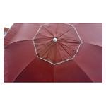 Зонт пляжный антиветер Stenson MH-2684 d2.0м серебро красный фото №2