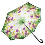 Зонт-трость женский полуавтомат Fulton FULL754-Garden-glow фото №5
