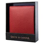 Кошелек мужской кожаный Smithcanova FUL-26826-red-black фото №7