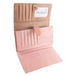 Кошелек женский кожаный 4U Cavaldi DNKPN26-RSN-pink фото №3