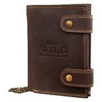 Кошелек мужской кожаный Always Wild DNK2901BIG-brown фото №3