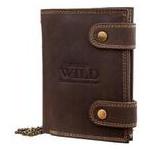 Кошелек мужской кожаный Always Wild DNK2901BIG-brown фото №1
