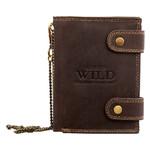 Кошелек мужской кожаный Always Wild DNK2901BIG-brown фото №7