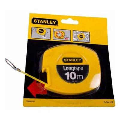 Рулетка Stanley Longtape 10х9.5мм (0-34-102)