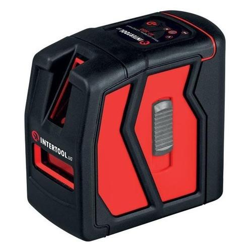 Уровень лазерный мини, 2 лазерные головки Intertool MT-3050
