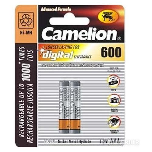 Аккумулятор Camelion R 03/2bl 600 mAh Ni-MH (NH-AAA600BP2)
