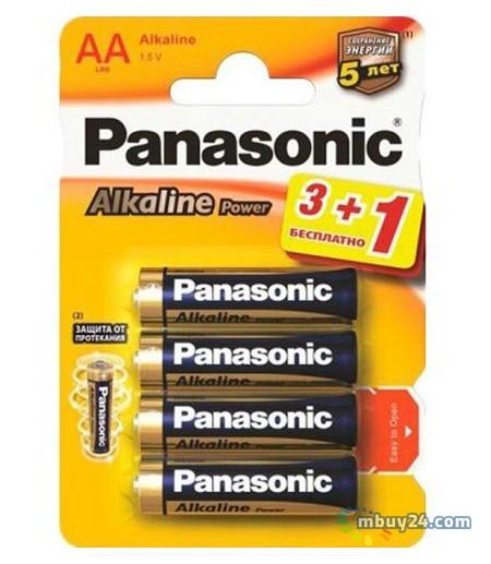 Батарейка Panasonic LR06 Alkaline Power 1x4 шт.