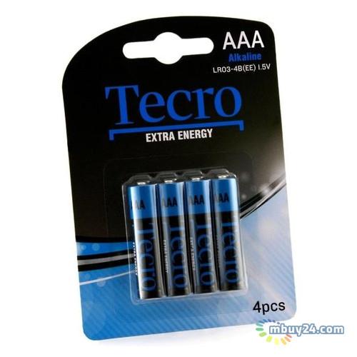 Батарейка Tecro LR03-4B(EE)