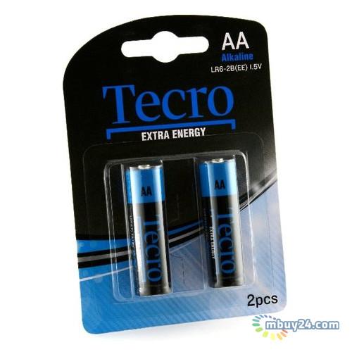 Батарейка Tecro Extra Energy Alkaline AA BLI 2 (LR6-2B(EE))