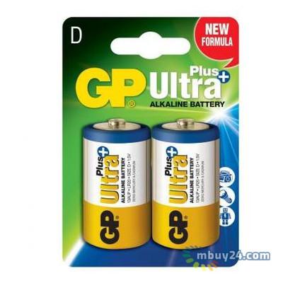 Батарейка GP D Ultra Plus LR20 x2 (13AUP-U2)