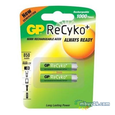 Аккумулятор GP AAA ReCyko+ 850mAh 2шт (85AAAHCB-C2/85AAAHCB-2UEC2)
