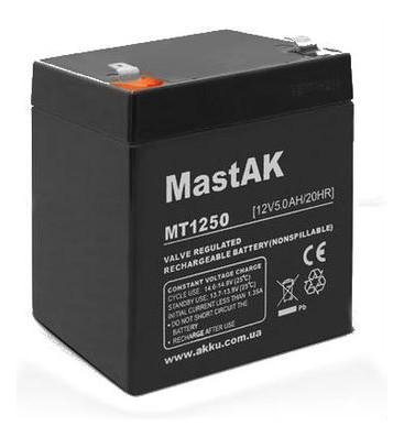 Аккумулятор Mastak 1250 (12V 5.0Ah)