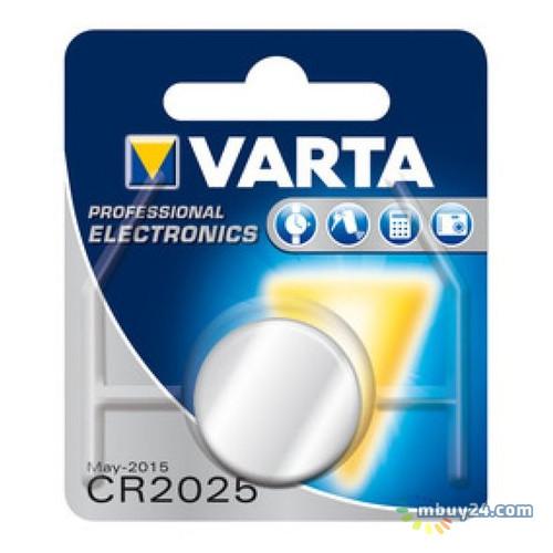 Батарейка Varta CR2025 Lithium (170 mAh) 1шт./уп.