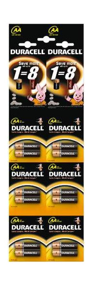 Батарейка Duracell AA 1500 мАч 12 штук (49736)