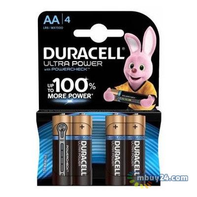 Батарейка Duracell AA Ultra Power LR06 x 4 (5004805)