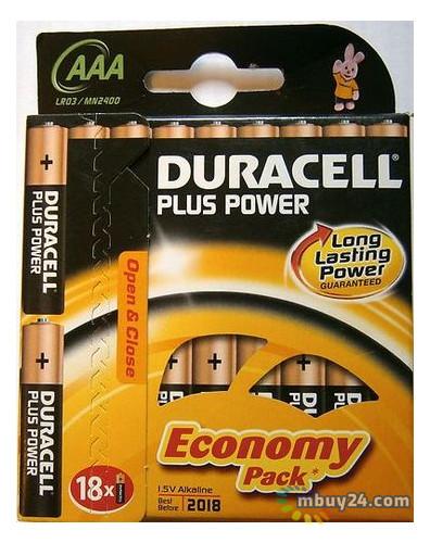 Батарейка Duracell LR03 MN2400 1x18 шт (81422470)