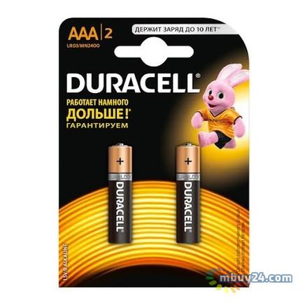 Батарейка Duracell AAA LR03 MN2400 2 шт