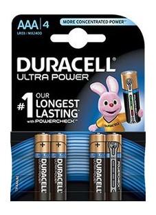 Батарейка Duracell Ultra Power AAA/LR03/MN2400