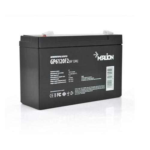 Аккумуляторная батарея Merlion 6V 12AH (GP612F20/06004) AGM