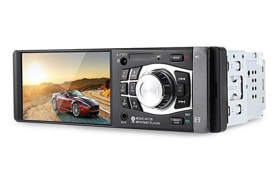 Автомагнитола 4012B с экраном 4,1 LCD TFT, Bluetooth. Пульт на руль в комплекте