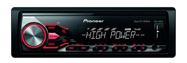 Автомагнитола Pioneer MVH-280FD