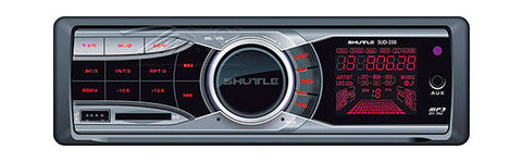 USB/SD автомагнитола Shuttle SUD-350 Red
