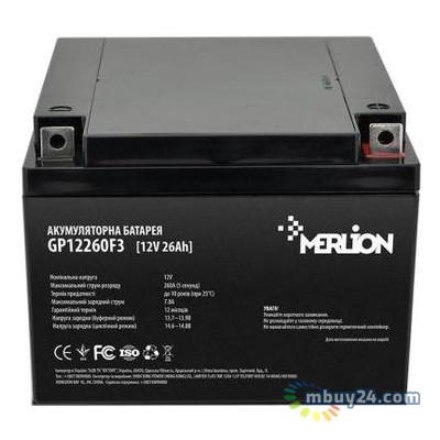 Батарея к ИБП Merlion 12V-26Ah (GP12260F3)
