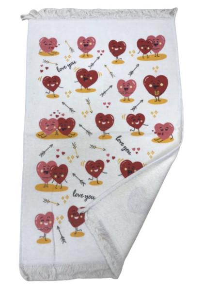 Кухонное полотенце Melih Сердца 40*60 (ts-02431)