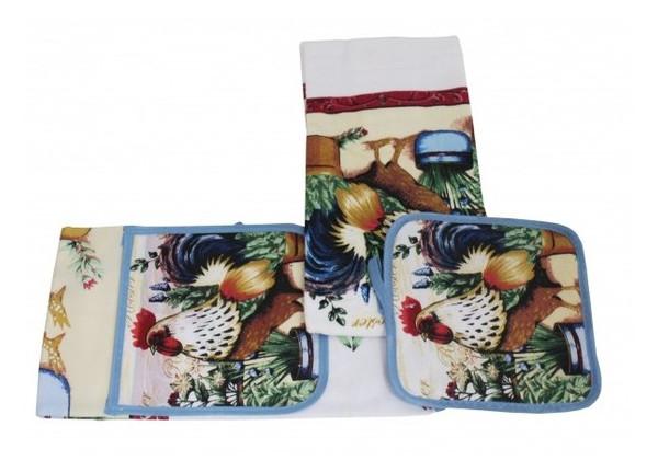 Кухонный набор Оселя Петух 71-72-040 (3 предмета)