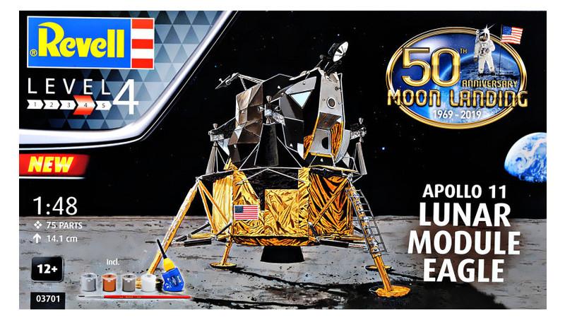Подарочный набор Revell Лунного модуля Орел миссии Аполлон 11 (RVL-03701)