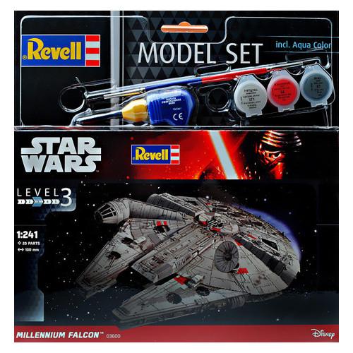 Подарочный набор Revell Звездные войны Космический корабль Millennium Falcon (RVL-63600)