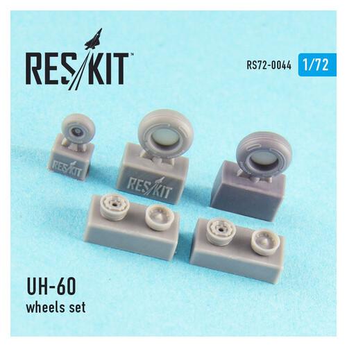 Смоляные колеса для вертолета Reskit UH-60 (RS72-0044)