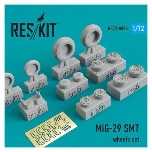 Смоляные колеса для самолета Reskit Микоян МиГ-29 СМТ (RS72-0090)