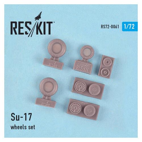 Смоляные колеса для самолета Reskit Су-17 (RS72-0061)