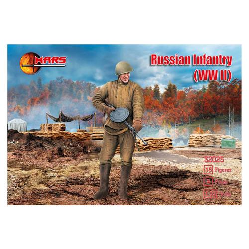 Модель Mars Figures Русская пехота 2 Мировая война (MS32025)
