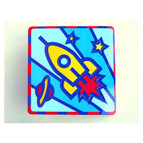 Плоская пиктограмма Umbum Ракета (UB166-03)