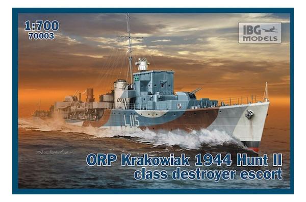 Модель IBG Models Сторожевой корабль класса эскорт ORP Krakowiak 1944 (IBG70003)