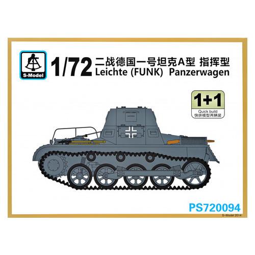 Танк Leichte (FUNK) Panzerwagen (2 модели в наборе) S-model (SMOD-PS720094)