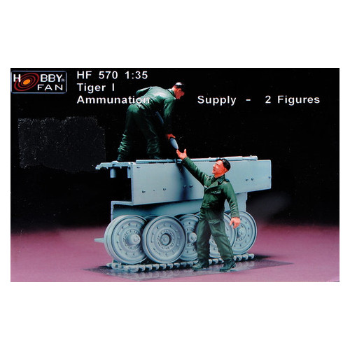 Модель Hobbyfan Экипаж танка Тигр I (HF570)