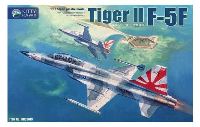 Истребитель F-5F Tiger II Kitty Hawk (KH32019)
