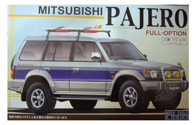 Автомобиль Mitsubishi Pajero Wagon II Fujimi (FU037974)