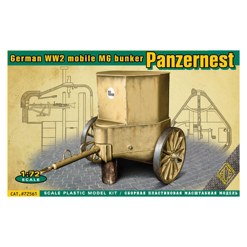 Немецкий бункер Panzernest ACE (ACE72561)
