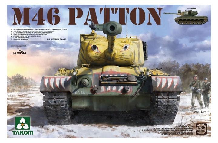 Модель Takom Американский средний танк M-46 Patton (TAKOM2117)